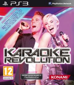 Jaquette de Karaoke Revolution PlayStation 3