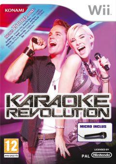 Jaquette de Karaoke Revolution Wii