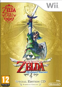 Jaquette de The Legend of Zelda : Skyward Sword Wii