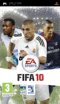 Jaquette de FIFA 10 PSP