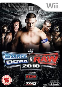 Jaquette de WWE Smackdown Vs. Raw 2010 Wii
