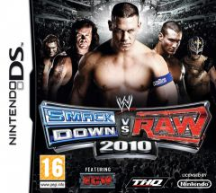 Jaquette de WWE Smackdown Vs. Raw 2010 DS