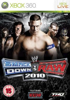 Jaquette de WWE Smackdown Vs. Raw 2010 Xbox 360