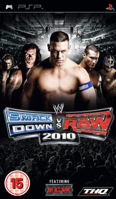 Jaquette de WWE Smackdown Vs. Raw 2010 PSP