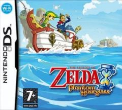 Jaquette de The Legend of Zelda : Phantom Hourglass DS