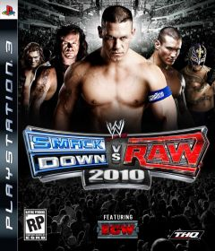 Jaquette de WWE Smackdown Vs. Raw 2010 PlayStation 3