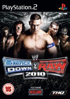 Jaquette de WWE Smackdown Vs. Raw 2010 PlayStation 2