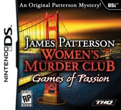 Jaquette de James Patterson's Women's Murder Club : Games of Passion DS