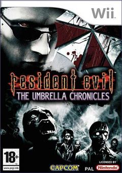 Jaquette de Resident Evil The Umbrella Chronicles Wii