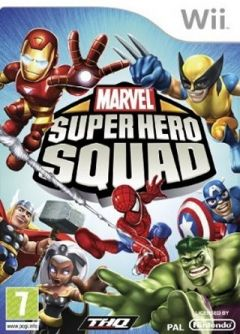 Jaquette de Marvel Super Hero Squad Wii