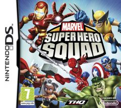 Jaquette de Marvel Super Hero Squad DS