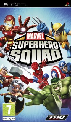 Jaquette de Marvel Super Hero Squad PSP