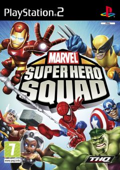 Jaquette de Marvel Super Hero Squad PlayStation 2