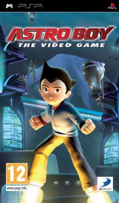 Jaquette de Astro Boy : The Video Game PSP