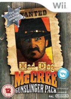 Jaquette de Mad Dog McCree : Gunslinger Pack Wii