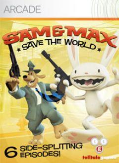 Jaquette de Sam & Max Saison 1 : Sauvez le Monde Xbox 360