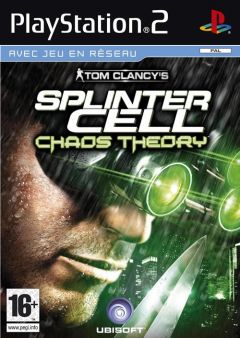 Jaquette de Splinter Cell : Chaos Theory PlayStation 2