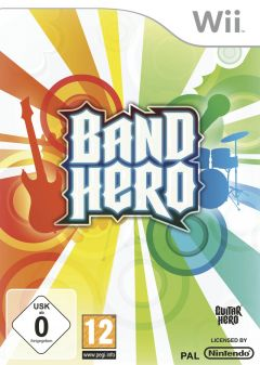 Jaquette de Band Hero Wii