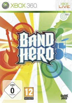 Jaquette de Band Hero Xbox 360