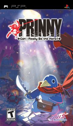 Jaquette de Prinny : Can I Really Be the Hero ? PSP