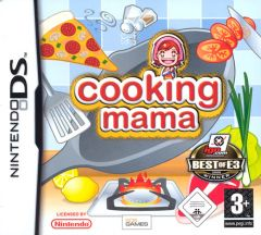 Jaquette de Cooking Mama DS
