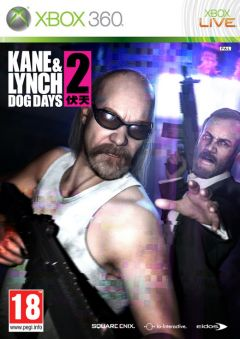 Jaquette de Kane & Lynch 2 : Dog Days Xbox 360