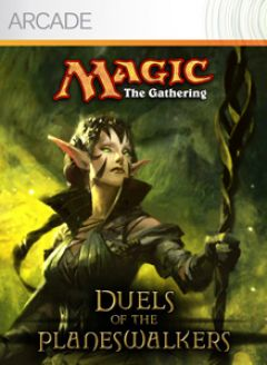 Jaquette de Magic the Gathering : Duels of the Planewalkers Xbox 360