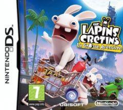 Jaquette de The Lapins Crétins : La Grosse Aventure DS