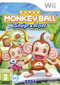 Jaquette de Super Monkey Ball Step & Roll Wii