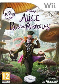 Jaquette de Alice au Pays des Merveilles Wii