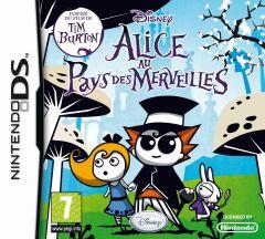 Jaquette de Alice au Pays des Merveilles DS