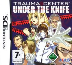 Jaquette de Trauma Center : Jouez du scalpel DS