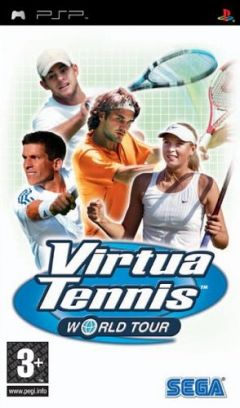 Jaquette de Virtua Tennis World Tour PSP