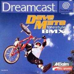 Jaquette de Dave Mirra Freestyle BMX Dreamcast