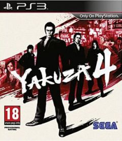 Jaquette de Yakuza 4 PlayStation 3