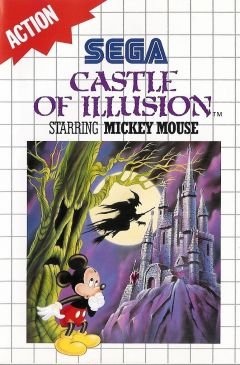 Jaquette de Castle of Illusion starring Mickey Mouse (Original) Master System