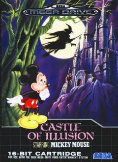 Jaquette de Castle of Illusion starring Mickey Mouse (Original) Megadrive
