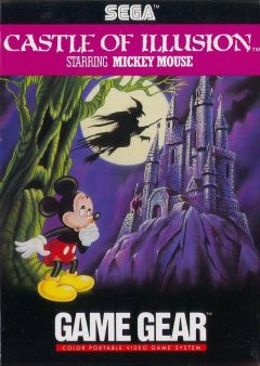 Jaquette de Castle of Illusion starring Mickey Mouse (Original) GameGear