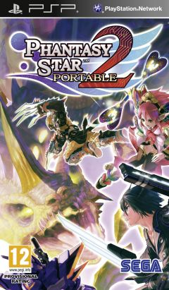 Jaquette de Phantasy Star Portable 2 PSP