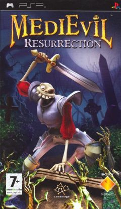Jaquette de MediEvil Resurrection PSP