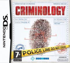 Jaquette de Criminology DS