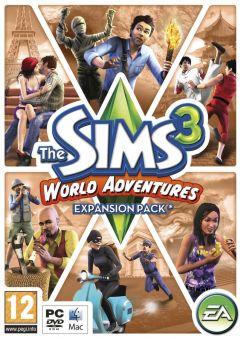 Jaquette de Les Sims 3 : Destination Aventure PC