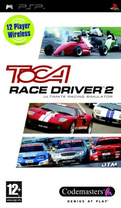 Jaquette de TOCA Race Driver 2 : The Ultimate Racing Simulator PSP