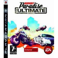Jaquette de Burnout Paradise : The Ultimate Box PlayStation 3