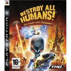 Jaquette de Destroy All Humans ! En Route vers Paname ! PlayStation 3