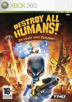 Jaquette de Destroy All Humans ! En Route vers Paname ! Xbox 360