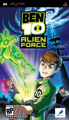 Jaquette de Ben 10 : Alien Force PSP