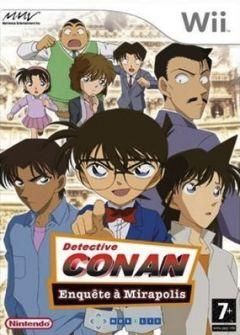 Jaquette de Detective Conan : Enquête à Mirapolis Wii