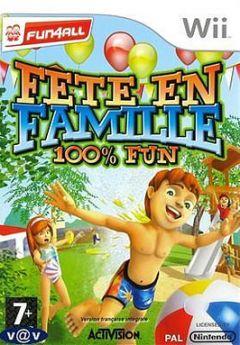 Jaquette de Fête en Famille 100% Fun Wii