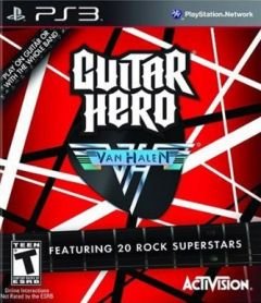 Jaquette de Guitar Hero : Van Halen PlayStation 3